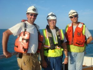 The CDI Men: Thom, Dad Loizeaux, and Ray